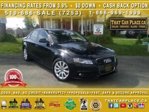 2012 Audi A4 2.0T Quattro - Loaded - Leather - Sunroof - Blueto