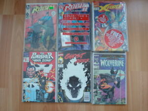 Collector comic books