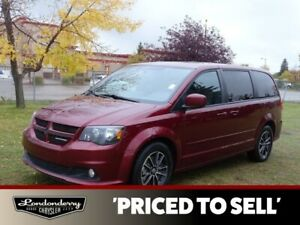 2017 Dodge Grand Caravan GT STOW&GO Leather,  Heated Seats,  Bac