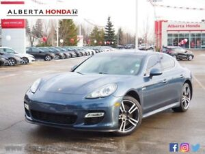 2010 Porsche Panamera Turbo. Sunroof. Retractable Spoilers. Axle