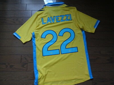 Napoli #22 Lavezzi 100% Original Jersey Shirt 2011/12 3rd XL(XXL) SS Still BNWT for sale  Shipping to Canada