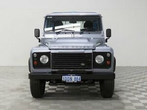 2009 Land Rover Defender MY10 110 (4x4) Grey 6 Speed Manual Cab Chassis Jandakot Cockburn Area Preview