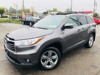 2014 Toyota Highlander LIMITED / NAV / PANO ROOF / 7 SEATER Cambridge Kitchener Area Preview