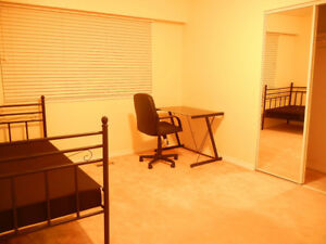 Fully Furnished Room available!! Near Burnaby-Lake station