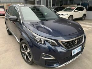 2018 Peugeot 5008 P87 MY18 GT Line Blue 6 Speed Automatic Wagon Fyshwick South Canberra Preview