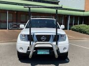 2012 Nissan Navara RX D40 4x2 White Automatic Dual Cab Mount Druitt Blacktown Area Preview