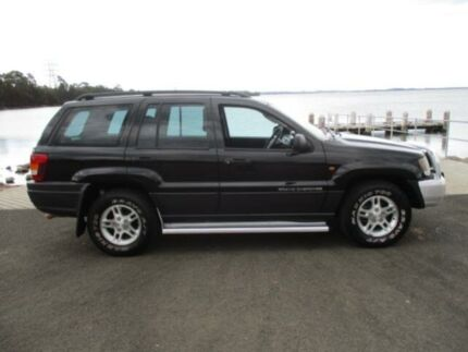 2002 Jeep Grand Cherokee WG Laredo (4x4) Black 4 Speed Automatic 4x4 Wagon