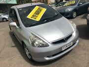 2003 Honda Jazz GD VTi Silver Constant Variable Hatchback Lidcombe Auburn Area Preview