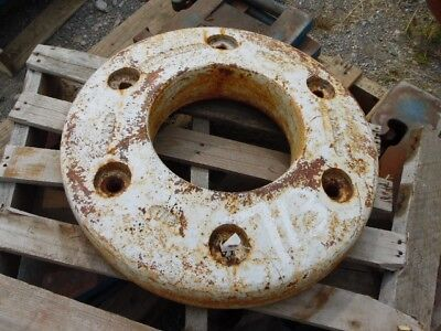 Allis-chalmers 190 Tractor 150 Lb. Rear Wheel Weight Tag 713
