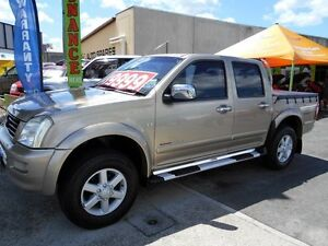 2004 Holden Rodeo RA LT Crew Cab Gold 4 Speed Automatic Utility Slacks Creek Logan Area Preview