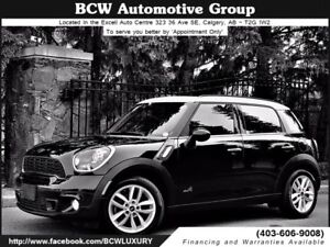 2013 MINI Cooper Countryman S AWD Low Km Must See $21,995.00