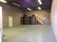 WAREHOUSE SPACE AVAILABLE IMMEDIATELY!!!