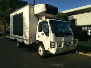 2005 Isuzu N Series NQR 450 White Refrigerated Cab Chassis 3.0l Lidcombe Auburn Area Preview