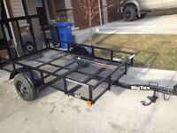 Big Tex Utility Trailer 15XT-08C 5x8 Like BRAND NEW Watch|Share