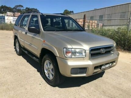2001 Nissan Pathfinder WX II TI Beige 4 Speed Automatic Wagon Greenacre Bankstown Area Preview