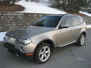 2010 BMW X3 30i XDRIVE (110,000/KM, CUIR, TOIT PANO, AIR, FULL!)