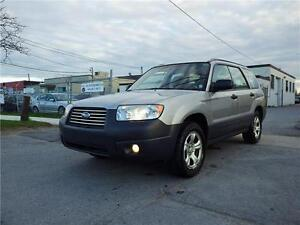 SOLD***SUBARU FORESTER 2.5 X AWD! LOW KM! CERTIFIED!