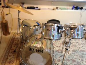 Pearl shell kit for sale and many drums and parts for sale!