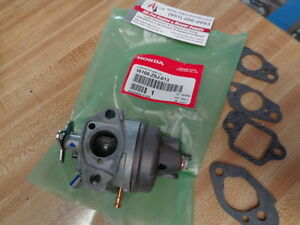 GENUINE 16100-Z0J-013 HONDA GC160 OEM CARBURETOR WITH GASKETS PRESSURE WASHER