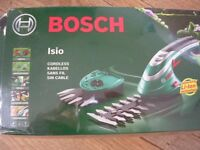 Bosch cordless hand-held grass and shrub trimmer