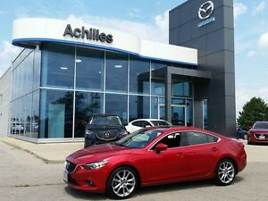 [CPO] 2014 Mazda MAZDA6 GT, Tech Pkg, Leather, LOADED!