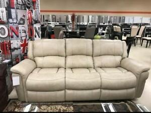 REAL LEATHER RECLINER SALE (ND 34)