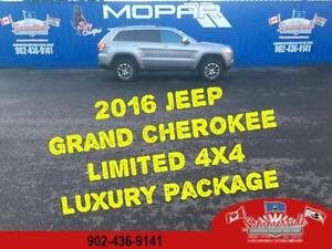 2016 Jeep Grand Cherokee Limited with LUXURY PACKAGE FULL LOAD !