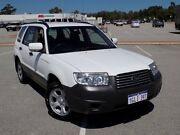 2007 Subaru Forester 79V MY07 X AWD White 4 Speed Automatic Wagon Maddington Gosnells Area Preview