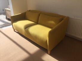 Sofa - mustard colour
