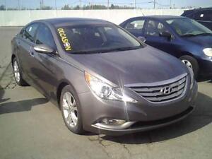 2011 Hyundai Sonata Limitée ,CUIR , TOIT OUVRANT , BAS MILLAGE