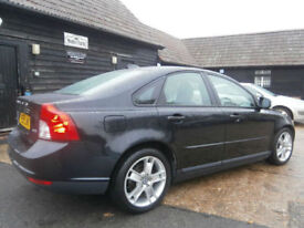 0959 VOLVO S40 2.0D S TURBO DIESEL AUTOMATIC POWERSHIFT A GENUINE 32K BLACK MET.