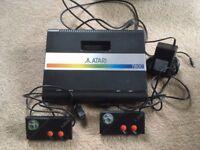 RETRO ATARI 7800 CONSOLE & 9 GAMES/GOOD CONDITION