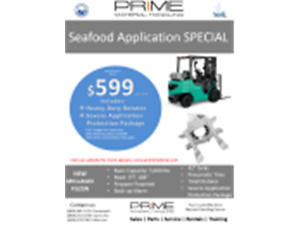 forklift  Fish Plant Special