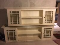 2 off Farmhouse Style Kitchen Wall Units