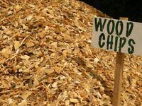 Free wood chips delivered