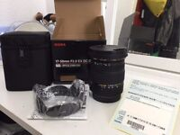 Sigma EX HSM OS DC 17 50mm F/2.8 Lens for Canon (AS NEW)
