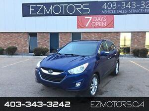 2010 Hyundai Tucson Limited=AWD=PANORAMIC SUNROOF=BLUETOOTH=WARR
