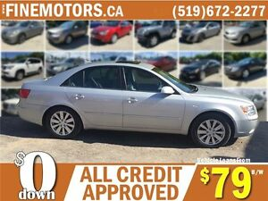2010 HYUNDAI SONATA GL LIMITED EDITION * LEATHER * POWER ROOF London Ontario image 3