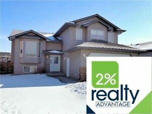 Central A/C-Hardwood-4Bed 3 Bath- 2% Realty