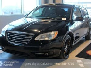 2012 Chrysler 200 TOURING: LEATHER, AUTO HEATED SEATS