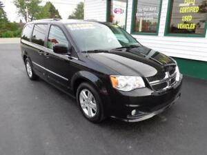 2016 Dodge Grand Caravan Crew Plus $219 bi-weekly all in!