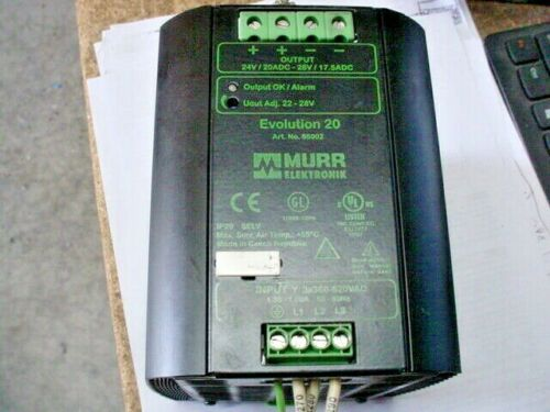 Murr Elektronik 85002 Evolution 20 Switching Power Supply