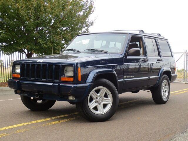 2001 Jeep Cherokee Limited 4x4 Xj No Reserve Classic Free