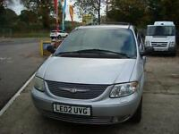 2002 CHRYSLER GRAND VOYAGER 2.5 CRD Limited 5dr [7 SEATS]