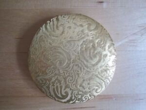 Poudrier VINTAGE Marhill Nacre / Mother of Pearl Powder Compact