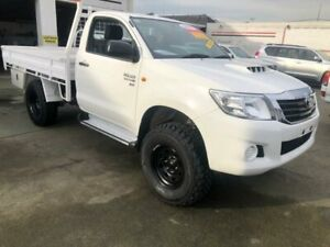 2015 Toyota Hilux KUN26R MY14 SR (4x4) 5 Speed Manual Dual Cab Chassis Granville Parramatta Area Preview