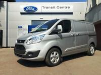 NEW Ford Transit Custom 290 SWB Limited 2.2TDCi 125ps Silver+ Dual Doors- Onsite