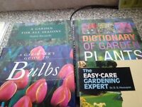 Four Gardening Books