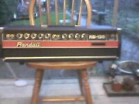 Randall RB120 ss bass head.Vintage and fully working