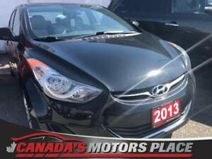 2013 Hyundai Elantra GL GL 5 SPD NO accidnets-MANUAL MINT LOW KM